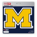 Michigan Wolverines Decal 8x8 Die Cut
