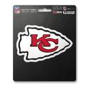 Kansas City Chiefs Decal 8x8 Die Cut Matte Special Order