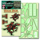 Texas Tech Red Raiders Decal Lil Buddy Glow in the Dark Kit