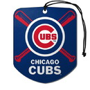Chicago Cubs Air Freshener Shield Design 2 Pack