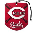 Cincinnati Reds Air Freshener Shield Design 2 Pack