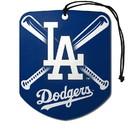 Los Angeles Dodgers Air Freshener Shield Design 2 Pack