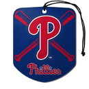 Philadelphia Phillies Air Freshener Shield Design 2 Pack