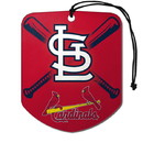 St. Louis Cardinals Air Freshener Shield Design 2 Pack