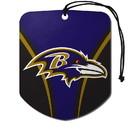 Baltimore Ravens Air Freshener Shield Design 2 Pack