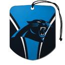 Carolina Panthers Air Freshener Shield Design 2 Pack