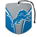 Detroit Lions Air Freshener Shield Design 2 Pack