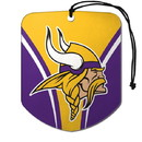 Minnesota Vikings Air Freshener Shield Design 2 Pack