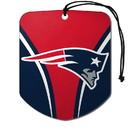New England Patriots Air Freshener Shield Design 2 Pack