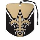 New Orleans Saints Air Freshener Shield Design 2 Pack