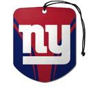 New York Giants Air Freshener Shield Design 2 Pack