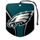 Philadelphia Eagles Air Freshener Shield Design 2 Pack