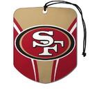 San Francisco 49ers Air Freshener Shield Design 2 Pack