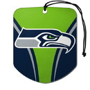 Seattle Seahawks Air Freshener Shield Design 2 Pack