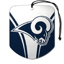Los Angeles Rams Air Freshener Shield Design 2 Pack