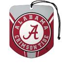 Alabama Crimson Tide Air Freshener Shield Design 2 Pack