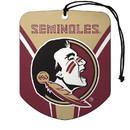 Florida State Seminoles Air Freshener Shield Design 2 Pack