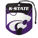 Kansas State Wildcats Air Freshener Shield Design 2 Pack