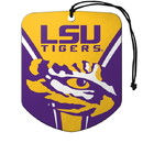 LSU Tigers Air Freshener Shield Design 2 Pack