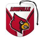 Louisville Cardinals Air Freshener Shield Design 2 Pack