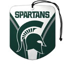 Michigan State Spartans Air Freshener Shield Design 2 Pack