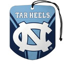 North Carolina Tar Heels Air Freshener Shield Design 2 Pack
