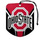 Ohio State Buckeyes Air Freshener Shield Design 2 Pack