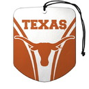 Texas Longhorns Air Freshener Shield Design 2 Pack