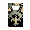 New Orleans Saints Bottle Opener Credit Card Style Special Order