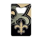 New Orleans Saints Bottle Opener Credit Card Style Special Order