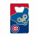 Chicago Cubs Bottle Opener Credit Card Style Special Order