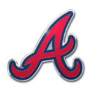 Atlanta Braves Auto Emblem - Color