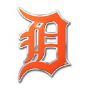 Detroit Tigers Auto Emblem - Color