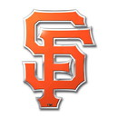 San Francisco Giants Auto Emblem - Color