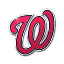 Washington Nationals Auto Emblem - Color