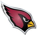 Arizona Cardinals Auto Emblem - Color