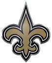 New Orleans Saints Auto Emblem - Color
