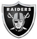Oakland Raiders Auto Emblem - Color