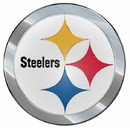 Pittsburgh Steelers Auto Emblem - Color