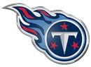 Tennessee Titans Auto Emblem - Color