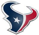 Houston Texans Auto Emblem - Color