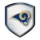 Los Angeles Rams Shield Style Reflector