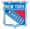 New York Rangers Auto Emblem - Color
