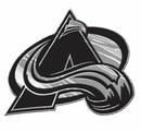 Colorado Avalanche Auto Emblem - Silver