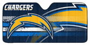 Los Angeles Chargers Auto Sun Shade 59x27