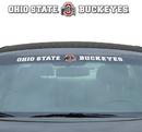 Ohio State Buckeyes Decal 35x4 Windshield