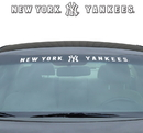 New York Yankees Decal 35x4 Windshield