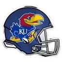 Kansas Jayhawks Auto Emblem - Helmet - (Promark)