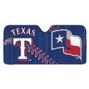 Texas Rangers Auto Sun Shade 59x27