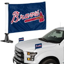 Atlanta Braves Flag Set 2 Piece Ambassador Style